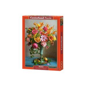 Puzzle Castorland - Autumn Flowers, 500 piese