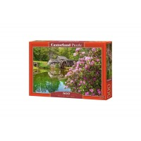 Puzzle Castorland - Mill by the Pond, 500 piese