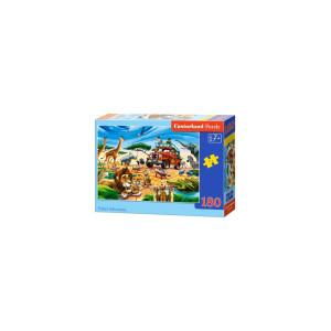 Puzzle Castorland - Safari Adventure, 180 piese