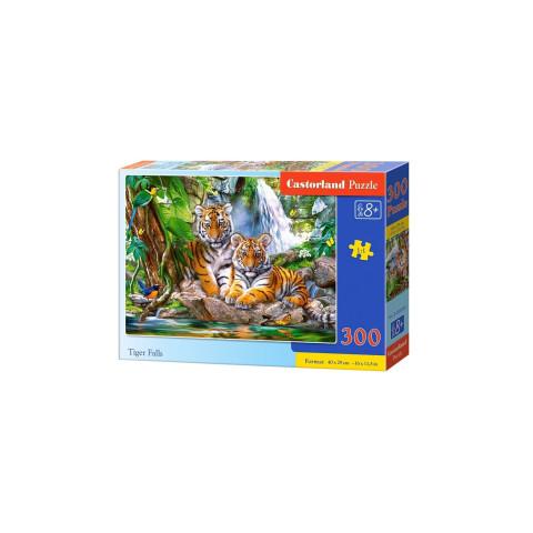 Puzzle Castorland - Tiger Falls, 300 piese