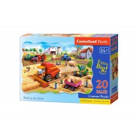 Puzzle Castorland - Work in the Farm, 20 piese XXL