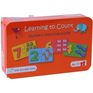 Puzzle - Învățăm să numărăm MomKi