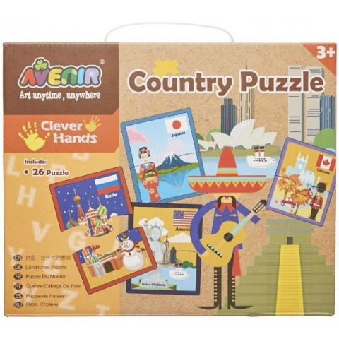Puzzle MomKi 26 de țări
