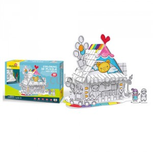 Puzzle 3D - Toy House