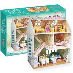 Puzzle 3D - Dreamy Dollhouse