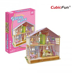 Puzzle 3D - Deram Dollhouse - Sara's Home