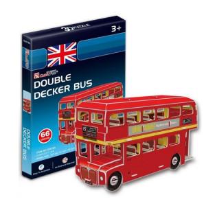 Puzzle 3D - Autobuzul etajat