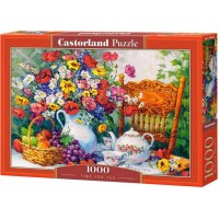 Puzzle Castorland - Time for Tea, 1000 piese