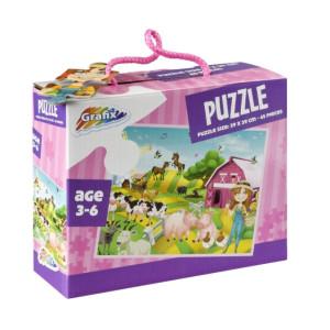 Puzzle Ferma, 45 Piese, Grafix