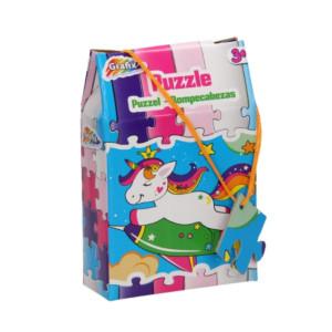 Puzzle Grafix, 30 piese, Inorogul zburător