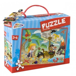 Puzzle Pirați, 45 Piese, Grafix