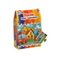 Puzzle Grafix, 30 piese, Pompier în misiune