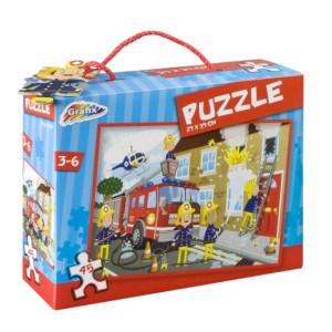 Puzzle Pompieri, 45 Piese, Grafix