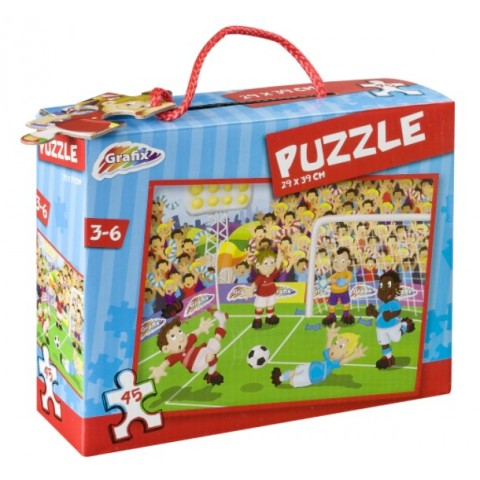 Puzzle Fotbal, 45 Piese, Grafix