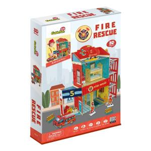 Puzzle 3D - Fire Rescue