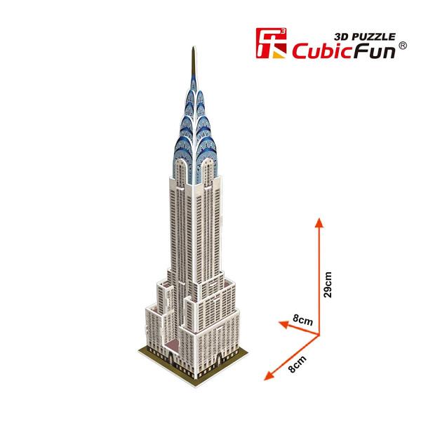 Puzzle 3D - Clădirea Chrysler