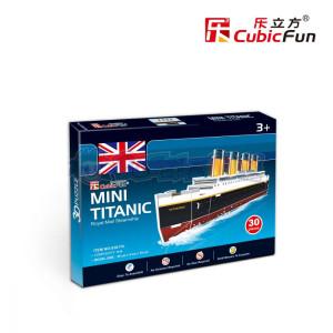 Puzzle 3D - Mini Titanic