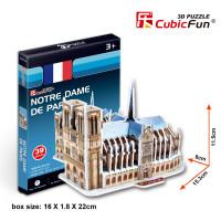 Puzzle 3D - Catedrala Notre Dame Din Paris