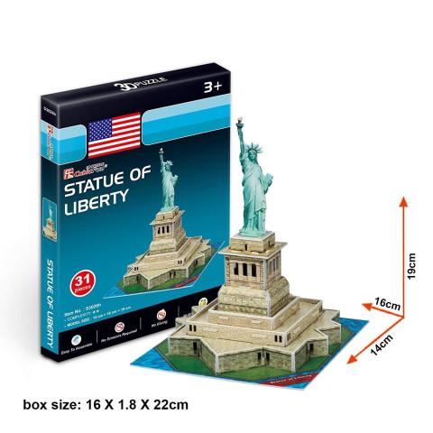 Puzzle 3D - Statuia Libertății