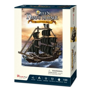 Puzzle 3D - Corabia Queen Anne's Revenge