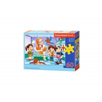 Puzzle Castorland - At the Animal Doctor, 60 piese