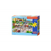 Puzzle Castorland - City Rush, 60 piese