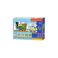 Puzzle Castorland Educativ Train