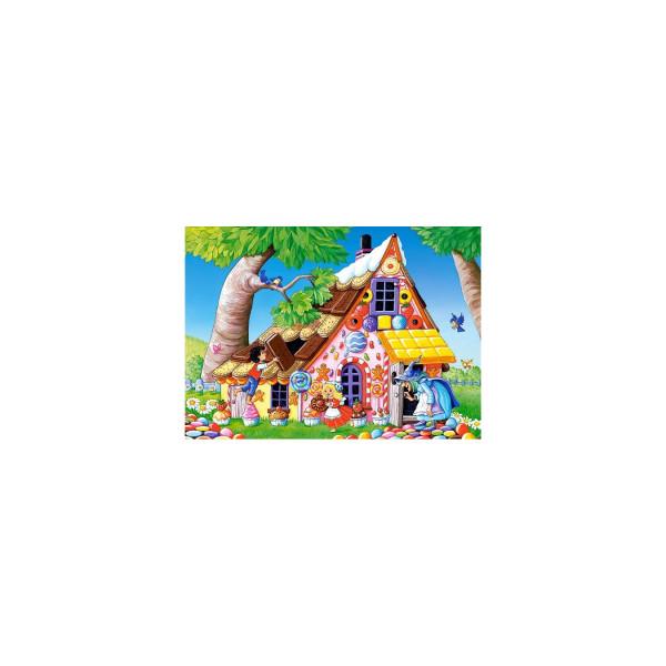 Puzzle Castorland - Hansel și Gretel, 120 Piese