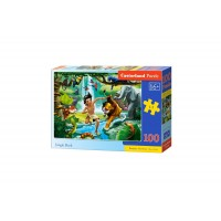 Puzzle Castorland - Jungle Book, 100 piese