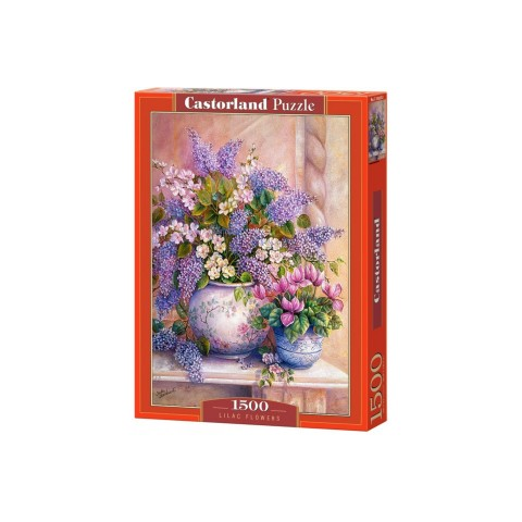 Puzzle Castorland Lilac Flowers 1500 piese