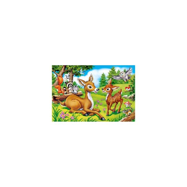 Puzzle Castorland Maxi - Dear Little Deer, 40 Piese