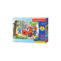 Puzzle Castorland Maxi - Fire Brigade, 20 Piese