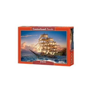 Puzzle Castorland Sailing at Sunset 1500 piese