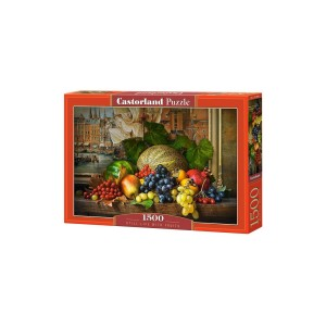 Puzzle Castorland Still Life with Fruits 1500 piese