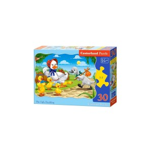 Puzzle Castorland - The Ugly Duckling, 30 piese