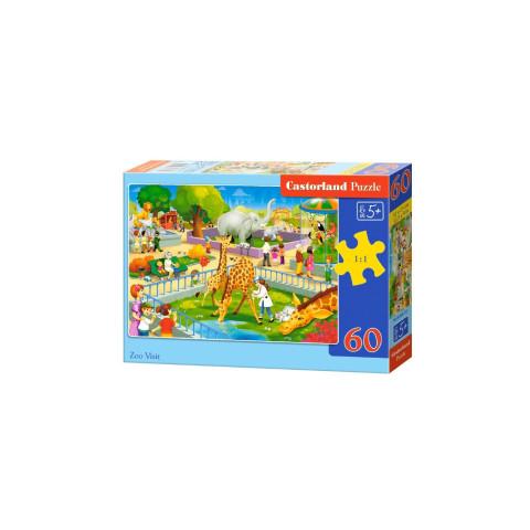 Puzzle Castorland - Zoo Visit, 60 piese