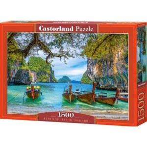 Puzzle Castorland, Beautiful Bay in Thailand, 1500 piese