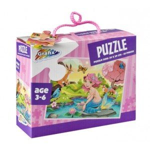 Puzzle Sirena, 45 Piese, Grafix