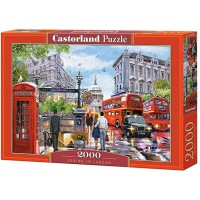 Puzzle Castorland - Spring in London, 2000 piese