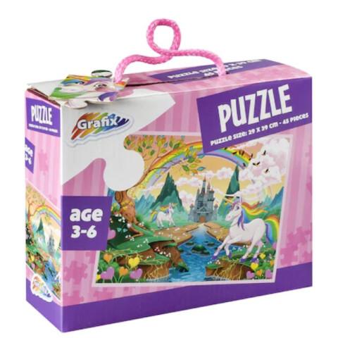 Puzzle Unicorni, 45 Piese, Grafix