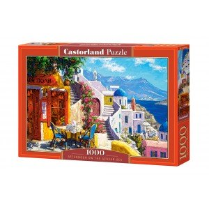 Puzzle Castorland Afternoon on the Aegean Sea 1000 piese