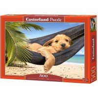 Puzzle Panoramic Castorland - Leisure Time, 500 piese