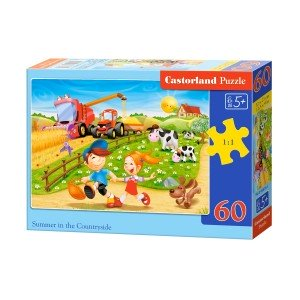 Puzzle Castorland - Summer in the countryside 60 piese