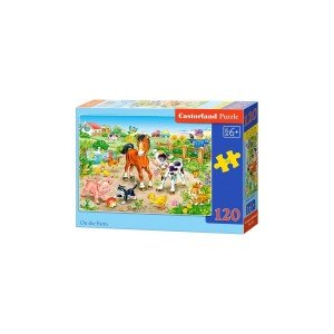 Puzzle Castorland - On The Farm, 120 Piese