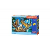 Puzzle Castorland - Owl Family, 180 piese