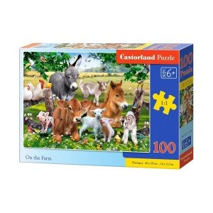 Puzzle Castorland On The Farm, 100 piese
