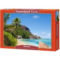Puzzle Castorland- Tropical Beach Seychelles, 3000 piese