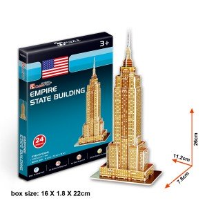 Puzzle 3D - Empire State Building