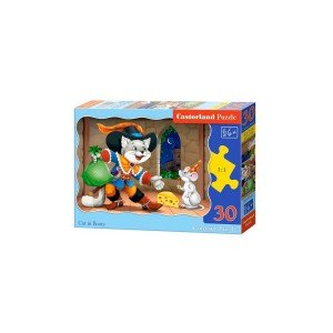 Puzzle Castorland - Cat In Boots, 30 piese