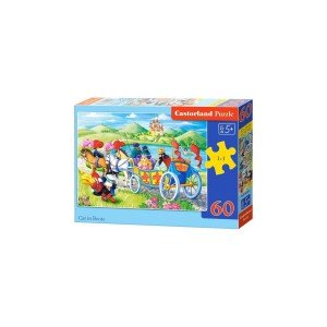 Puzzle Castorland - Cat in Boots, 60 piese